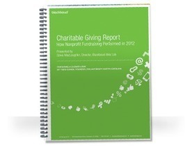 2012 Charitable Giving Report by Blackbaud: Fundraising Research, Trends and Resources   NPS Tips   Scoop.it