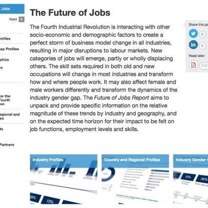 The Future of Jobs | Learning Technology News | Scoop.it