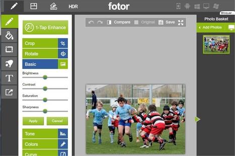 Fotor : Éditeur de Photos - Gratuit en Ligne   TICE, Web 2.0, logiciels libres   Scoop.it