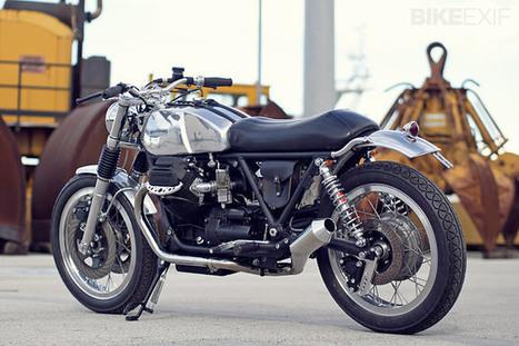 Officine RossoPuro Moto Guzzi 850   '77 CB400 Four   Scoop.it