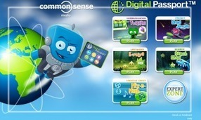 New This Fall! Digital Passport™ Offers You a New Way to Teach Digital Literacy and Citizenship   Common Sense Media   BYOD iPads   Scoop.it