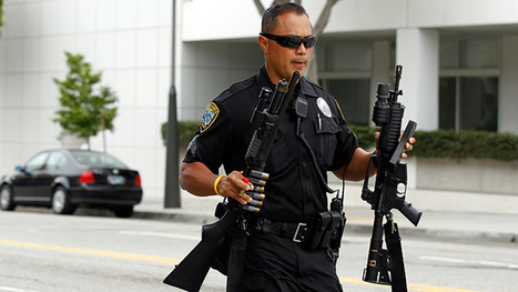 Dozens of police departments suspended for losing US military-grade weaponry | Criminal Justice in America | Scoop.it