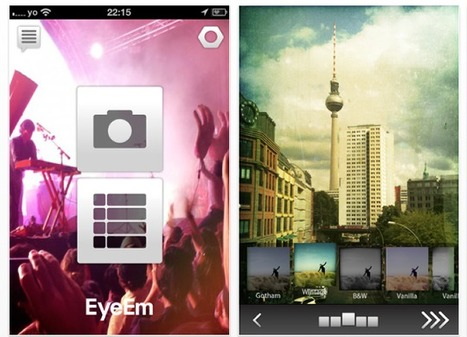 EyeEm – New Photo Sharing App For iOS And Android | Appertunity's fun & creative iphone news | Scoop.it