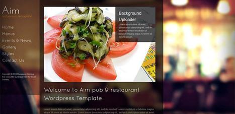 Découvrez les 20 Meilleurs Thèmes Wordpress Restaurant - WP Themes Pro | Template & Webdesign | Scoop.it