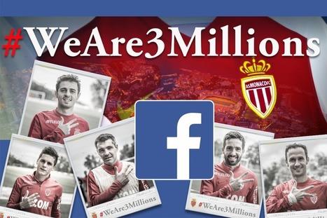 L'As Monaco a 3 millions de fans sur Facebook | Sport and biz | Sportbusiness | Scoop.it