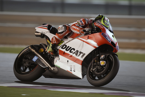 Qatar MotoGP Ducati Day 1 | Ductalk Ducati News | Scoop.it