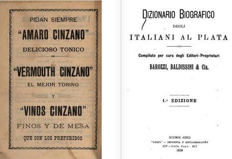 Dizionario biografico degli italiani al Plata -1899 | Généal'italie | Scoop.it