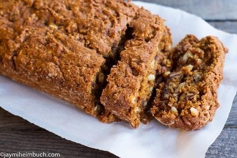 Healthy Pumpkin and Spice Quick Bread | My Vegan recipes | Scoop.it