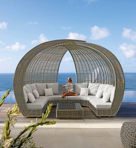 Outdoor Bed Designs For Your Utmost Relaxation - Top Dreamer   Decorating Ideas - Home Design Ideas   Scoop.it