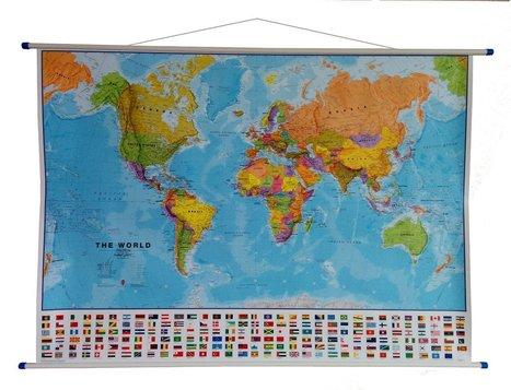 Mapas mudos, cuadros y láminas para aprender, descubrir y decorar   Educadores innovadores y aulas con memoria   Scoop.it