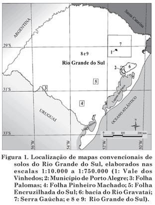Revista Brasileira de Ciência do Solo - Caracterização de mapas legados de solos: uso de indicadores em mapas com diferetens escalas no Rio Grande do Sul   Mapeamento Digital de Solos   Scoop.it