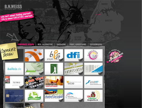 50 Beautifully Dark Web Designs Inspire | Design Revolution | Scoop.it