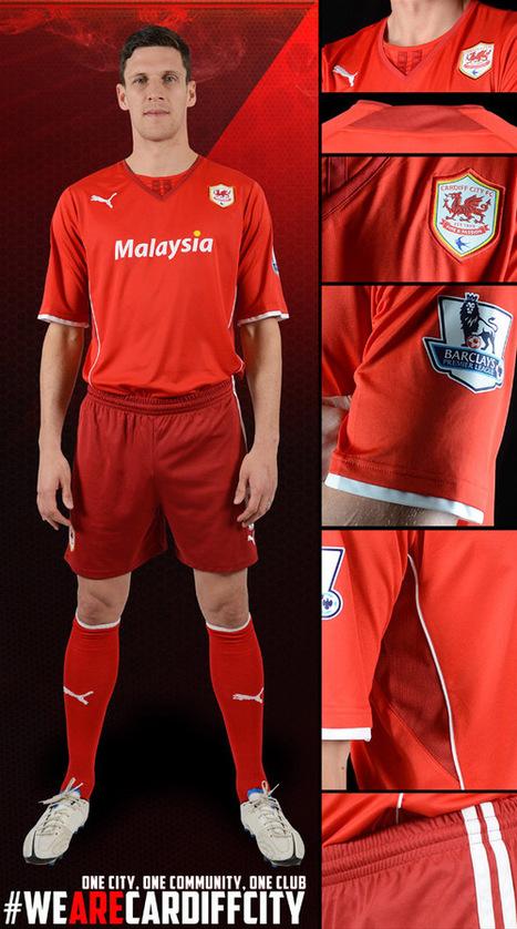 Le maillot domicile de Cardiff City pour 2013-2014 | Maillots 2014 2015 | Scoop.it