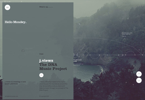 50 Portfolio Websites for Inspiration | Content Creation, Curation, Management | Scoop.it