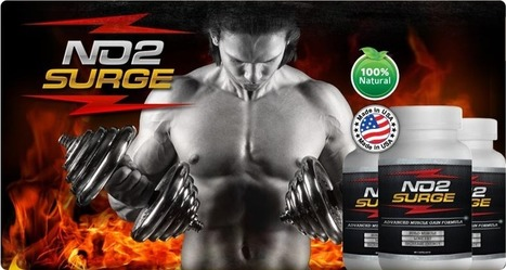 NO2 Surge Muscle Building Supplement Review - Free Trial (Limited Time)   Build Hard Muscles and Feel Great   Scoop.it