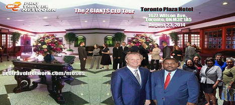 Toronto, On Yes we are coming to Canada. Are you Ready for The 2 Giants CEO Tour Toronto? August 23, 2014 | Travel | Scoop.it