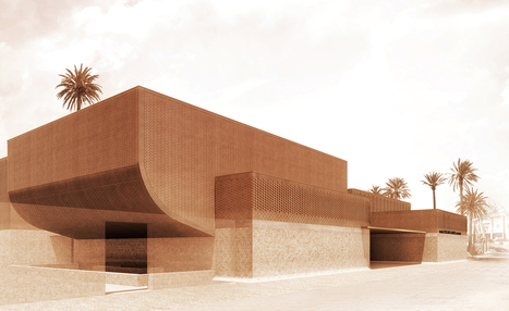 Moroccan jewel: Studio KO reveals design for new Yves Saint Laurent museum | D_sign | Scoop.it