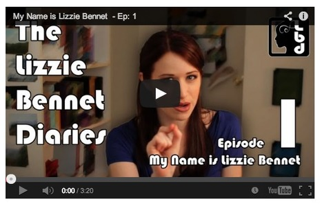 The Lizzie Bennet Diaries   An online adaptation of Jane Austen's Pride and Prejudice   Intro to Literature   Scoop.it