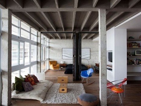 Appartement esprit loft à São Paulo | Revue Déco du Web par Du Côté de Chez Vous | Scoop.it