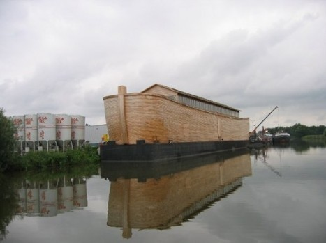 Dutch Artist Spends 20 Years Building Life-Size Replica of Noah's Ark | Strange days indeed... | Scoop.it