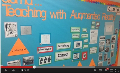 Video Tutorials for Teachers on Using Augmented Reality App Aurasma ~ Educational Technology and Mobile Learning | iPad apps in de klas | Scoop.it