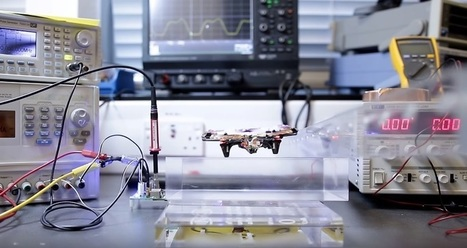 Ce petit drone arrive à voler… sans batterie | Une nouvelle civilisation de Robots | Scoop.it