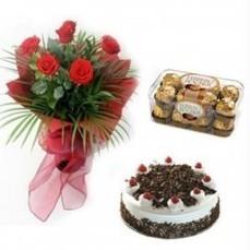Rose Chococake Hamper - Cakes | Trendy Dresses | Scoop.it