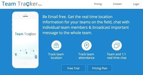 TeamTracker. Outil collaboratif pour les équipes en mobilité - Les Outils Collaboratifs | Les outils du Web 2.0 | Scoop.it