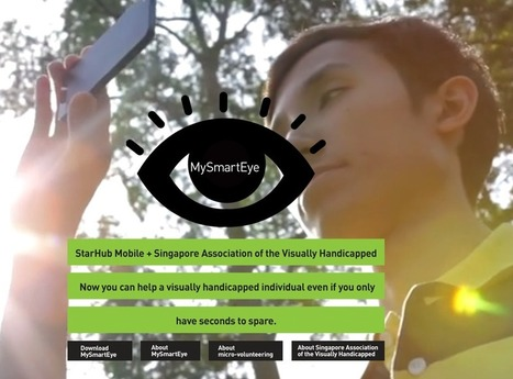 Crea y aprende con Laura: MySmartEye. Realidad aumentada para invidentes | Augmented reality tools and news | Scoop.it