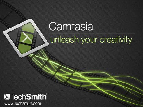 Capture, Edit, & Share your ideas with the world using Camtasia Studio | Sofia Mercado y sus herramientas tecnológicas HCLM | Scoop.it