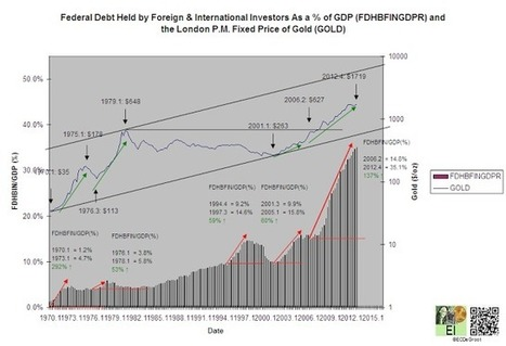 Eric De Groot: Debt Is Piling Up Everywhere | Gold and What Moves it. | Scoop.it