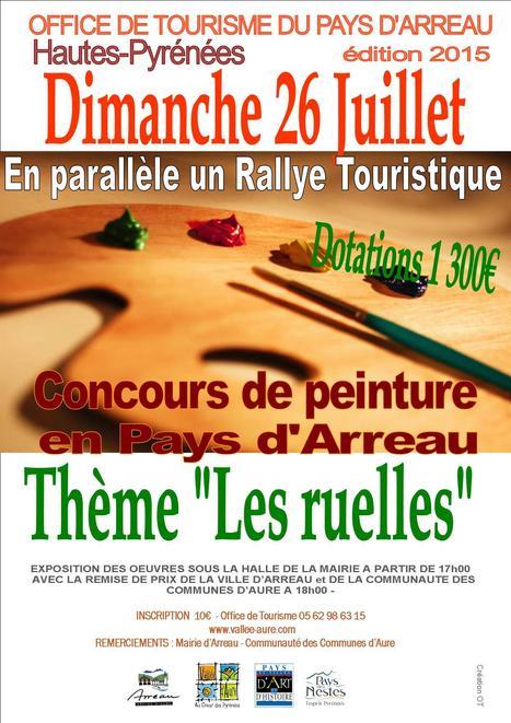 Journée des Peintres à Arreau le 26 juillet | Vallée d'Aure - Pyrénées | Scoop.it