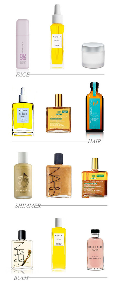 {on the dressing table : a myriad of beauty oils} :: This is Glamorous | HairOnShow | Scoop.it