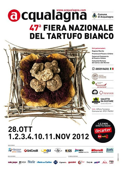 47th National White Truffle Fair of Acqualagna in northern Le Marche | FoodieDoc says: | Scoop.it