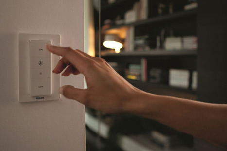 Philips Hue LED lighting gets a new dimmer control | Solar Energy | Scoop.it