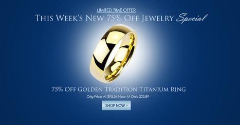 Blue Steel Jewelry – Online   Stainless Steel Blue Rings   Scoop.it