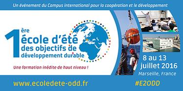 Ecole d'été des Objectifs du Développement Durable : le premier grand événement du Campus international pour la coopération et le développement | plan-bleu | Evaluation d'impact environnemental | Scoop.it