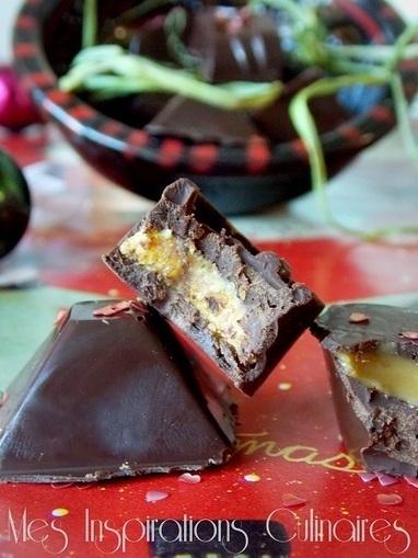 chocolats fourrés a la confiture de lait | Recettes de fetes | Scoop.it