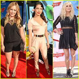 Hilary Duff & Priyanka Chopra: 'Planes' Hollywood Premiere ...   Yogesh Kumar- Blog Author   Scoop.it