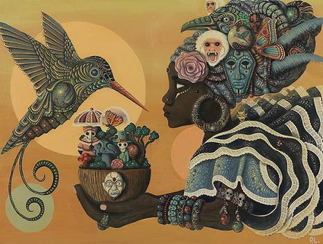 Artista jamaicano brinca com folclore afro-caribenho e ficção científica - Afreaka | Paraliteraturas + Pessoa, Borges e Lovecraft | Scoop.it