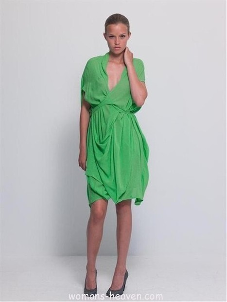 Green dress | My best pics collection | Scoop.it
