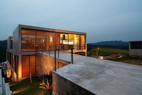 apiacas arquitetos: itahye residence in sao paulo - designboom | architecture & design magazine | architecture | Scoop.it