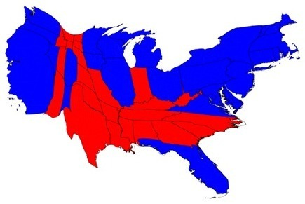 2012 Election Cartograms | Educated | Scoop.it