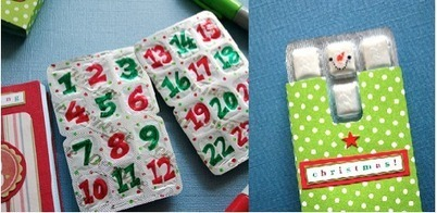 Advent Calendar Ideas « OMGmother's official blog | craft | Scoop.it