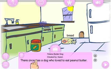 Story Creator from KB Konnected | Sharing Technology for Teachers | Scoop.it