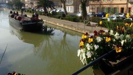 La Marie-Thérèse, la plus ancienne péniche du canal du Midi, quitte Narbonne - France 3 Languedoc-Roussillon | Canal du midi (et Cie) | Scoop.it