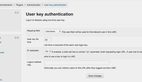 Better Interaction Between Third Party Web Services And Your Moodle Through User Key Authentication Plugin | tipsmoodle | Scoop.it
