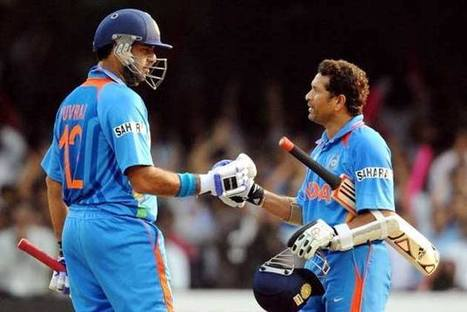 Sachin Tendulkar comes out in support of underfire Yuvraj Singh - Latest Sports Buzz | Sandhira Sports | Scoop.it