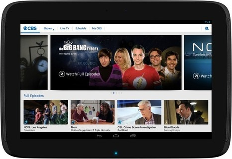 Now CBS Is Selling Web Subscriptions to Its Shows, Too | Live Mobile TV challanges the traditional box | Scoop.it