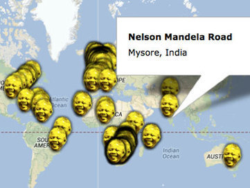Map: Streets Named After Nelson Mandela, From Cape Town to California | Scotland | Scoop.it